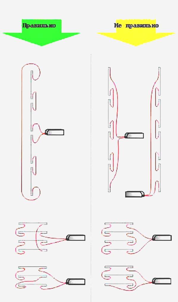 Правильные и неправильные схемы подключения неона.  Схемы подключения неоновых ламп холодного катода к...