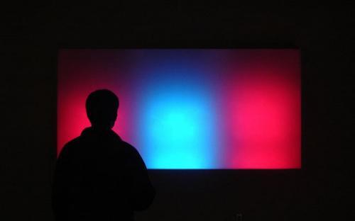 cветовая инсталляция