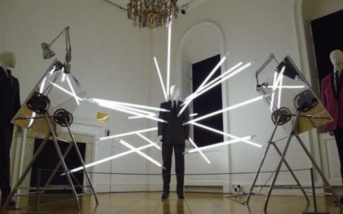 световая арт-инсталляция