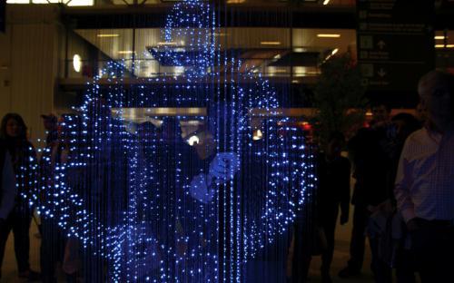 Светодиодная скульптура