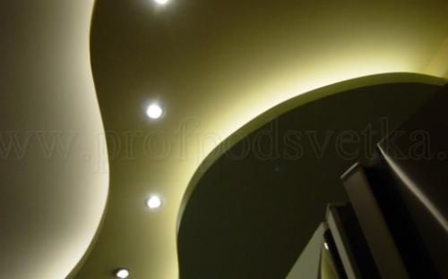 подсветка потолочных ниш