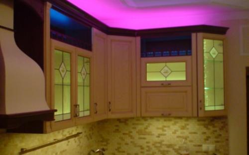 светодиодная подсветка кухни RGB