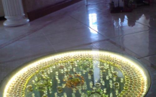 светодиодная подсветка ниш в полу