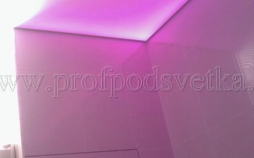 светодиодная rgb подсветка натяжного потолка
