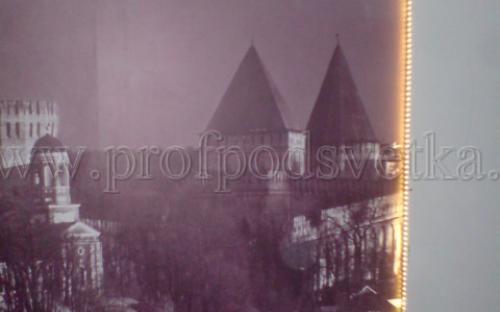 светодиодная подсветка картины