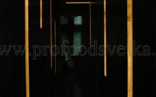 светодиодная подсветка витража